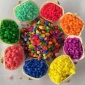 染色彩砂 淘气堡儿童娱乐砂 外墙真石漆彩砂环保不变色